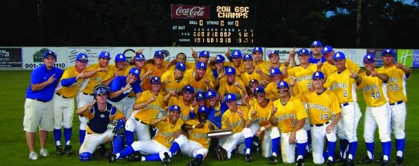 Mulerider Baseball tops successful season with third GSC championship