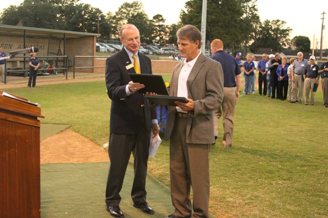 SAU baseball dedicates Goodheart Field