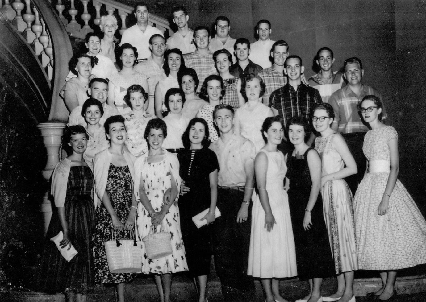 SAU's First Study Abroad Trip: Mexico, 1957