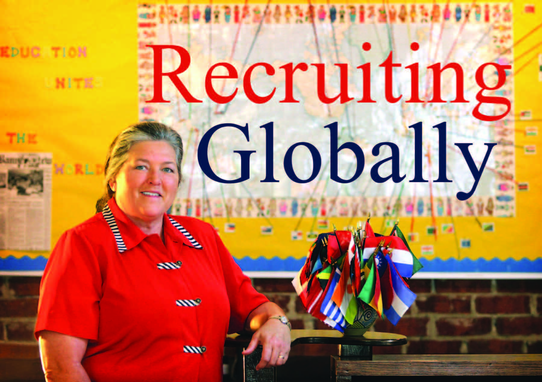 "Claudia ""Penny"" Lyons: Recruiting Globally"