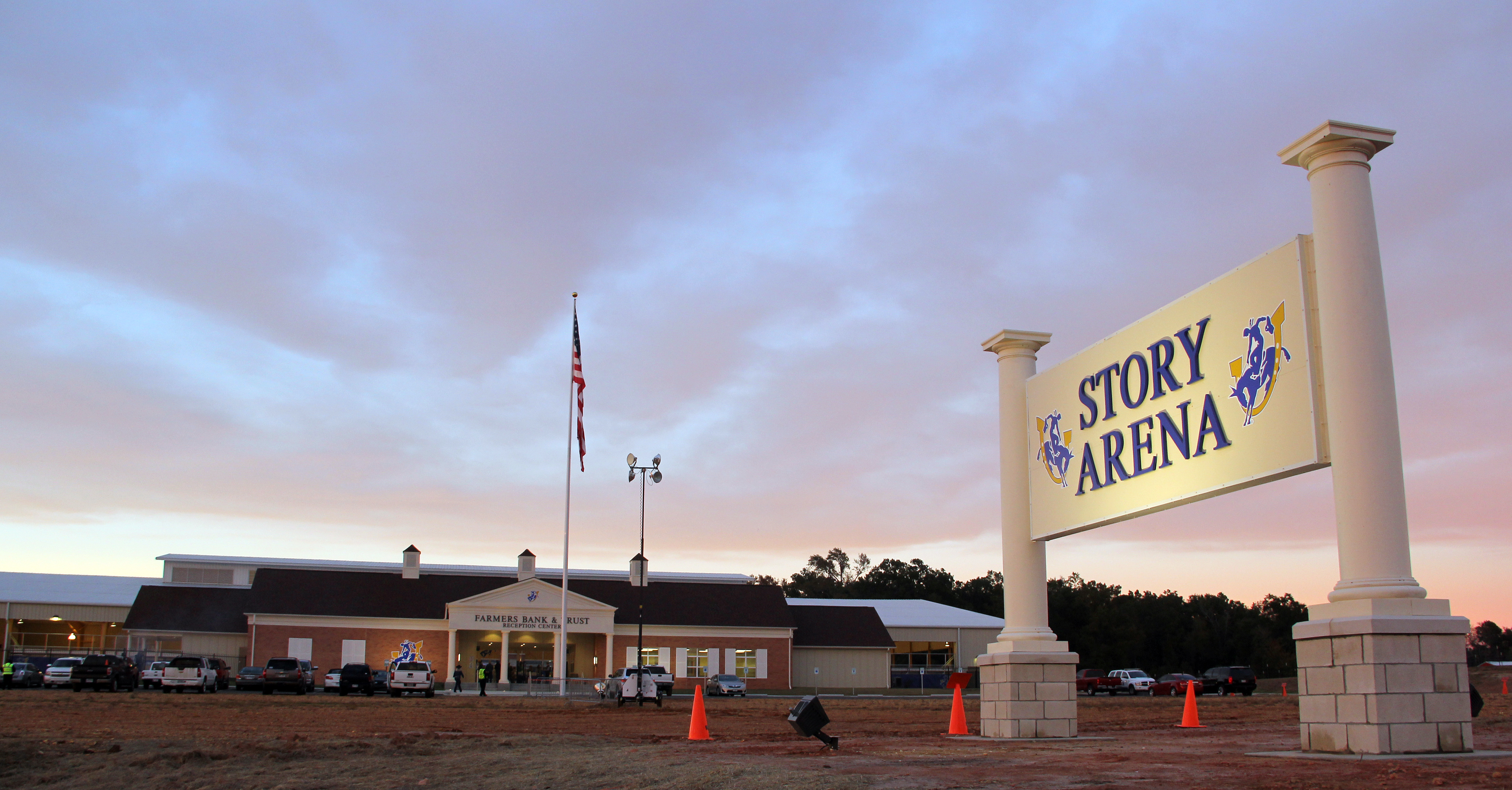 Historic Grand Opening for the $4.4 million Story Arena