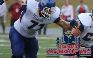 SAU football's John Miller named CoSIDA Academic All-America® Second-Team