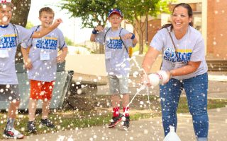 Summer camps liven up campus