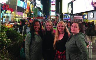 SAU theatre students savor Big Apple trip